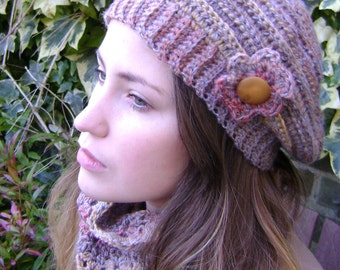 Crochet beret (autumn)
