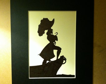 Disney Captain Hook Silhouette