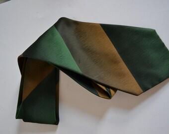 Vintage 1970s LLOYDS Mens Polyester Necktie