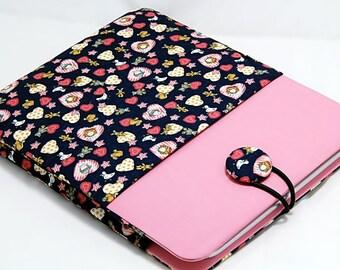 iPad Sleeve, iPad Case, iPad Cover, Tablet Sleeve, Tablet Case, Pink iPad Sleeve, Samsung Galaxy 10.1 Sleeve, Samsung Galaxy 10.1 Case