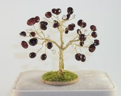 January Birthstone Tree - Garnet