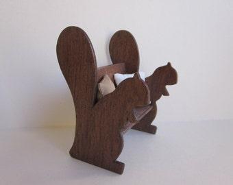 Rustic Miniature Squirrel Bench