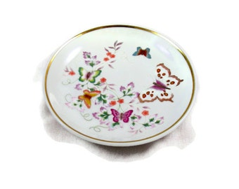 Avon Miniature Butterfly Plate Made in Brazil 1979
