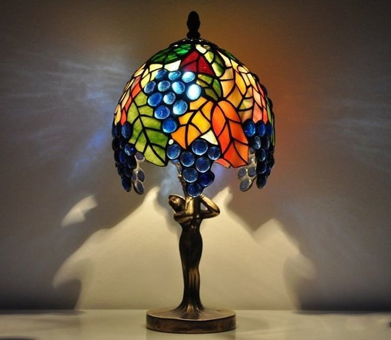alfa img showing small stained glass lamps. Black Bedroom Furniture Sets. Home Design Ideas
