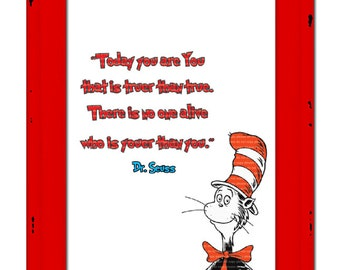 INSTANT DL- Dr seuss printable wall decor poster