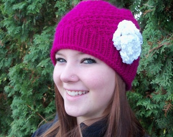 The Mossy Hat Original Knitting pattern by Marilyn
