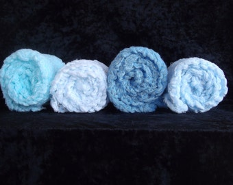 SET of 4 Cheesecloth  PHOTOGRAPHY Wraps...Newborn Wraps Cheesecloth wraps