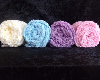 SET of 4 Cheesecloth  PHOTOGRAPHY Wraps...Newborn Wraps.. Cheesecloth wraps..