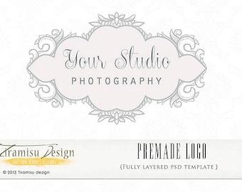 Instant Download Premade Logo or Watermark - Paris