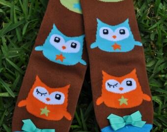 Owl Leg Warmers- customize available