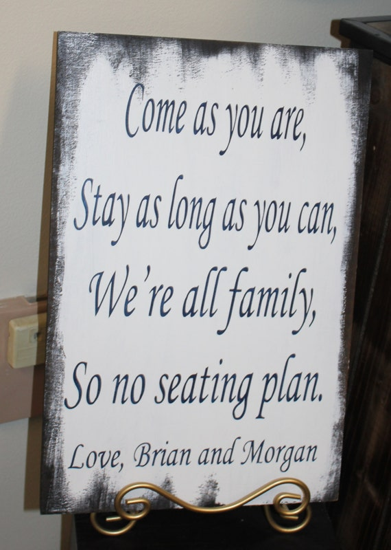 Wedding Signs Reception Tables Seating By Gingerbreadromantic