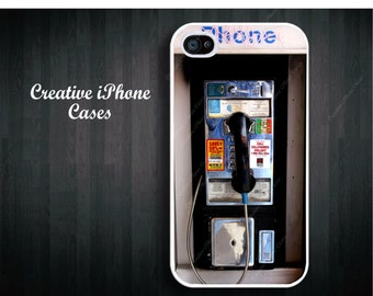 Public Pay Phone Funny - iPhone 4/4S Case, iPhone 5/5S, or the iPhone 5C