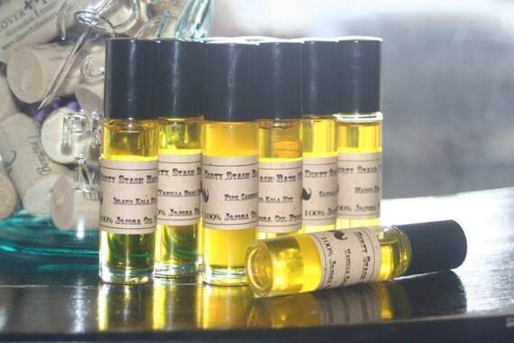 Natural Jojoba Oil Perfume Oil-Pink Cashmere