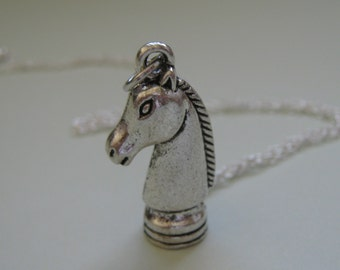 Chess Knight Necklace