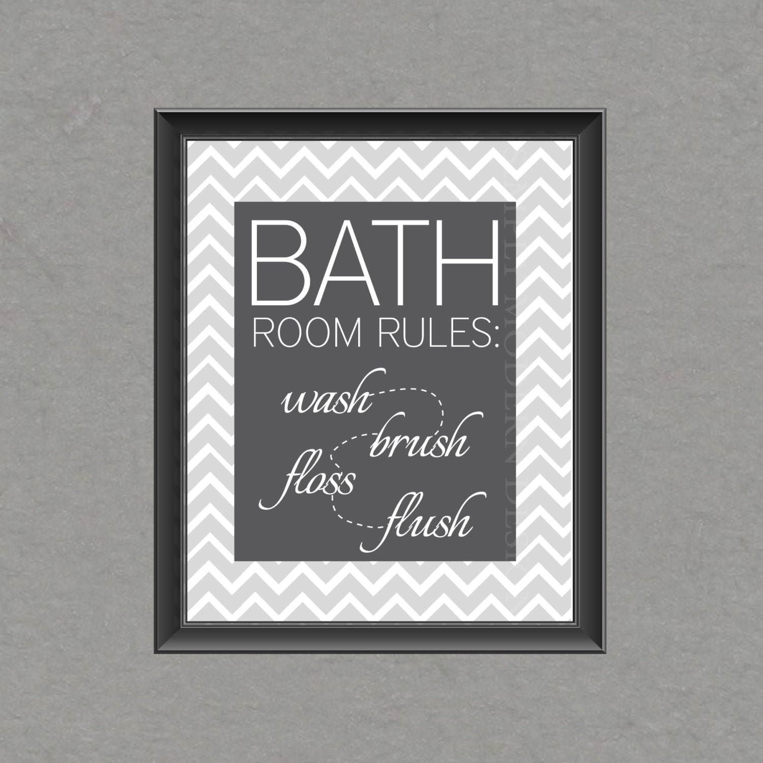 Bathroom wall art  Etsy