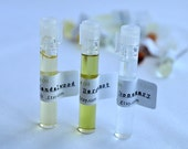 Essential Oil, Sample Vials, 5/16 Dram, Aroma-therapeutic Grade 100% Pure Undiluted, Options to have 3, 5, 10 or 30 Vials at your choice