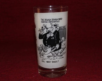 Vintage The Dough Dough Bird by Lou Grant Drinking Glass