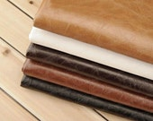 "27"" x 18'' Pull-Up Leather,Pu Leather For Upholstery Application,Leather Upholstery Fabric,Bags Fabric,Purses Fabric,Faux Leather Fabric"