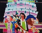 "Vintage ""The Big Show"" Original TV Poster 22""x28"""