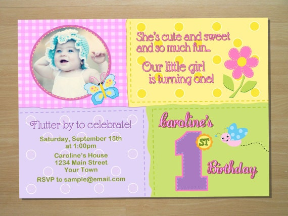 KT Designs Birthday Series Butterfly Birthday Party Invitations – Butterfly Invitations Birthday