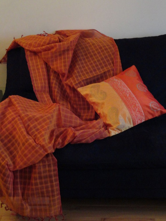 Indian silk sofa throw pillow Zari embroidery throw by  : il570xN436121523boe0 from www.etsy.com size 570 x 760 jpeg 75kB