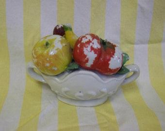 Fruit Bowl Shabby Fruit Bowl Porcelain Fruit Bowl Ceramic Bowl with Fruit