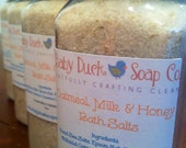 Oatmeal, Milk & Honey Bath Salts - 8oz