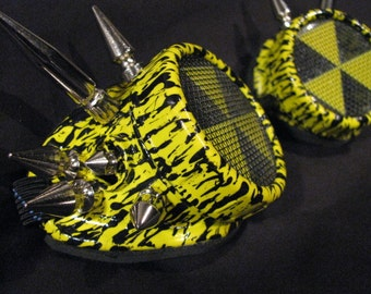 cyber goggles G236UV UV yellow Fallout shelter goggles