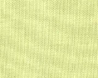 Bella Solids from Moda in Light Lime 9900 100