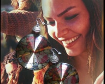ENGLISH ROSES Earrings by La Polena 2014 Spring Summer trend stile floreale ETSYITALIATEAM