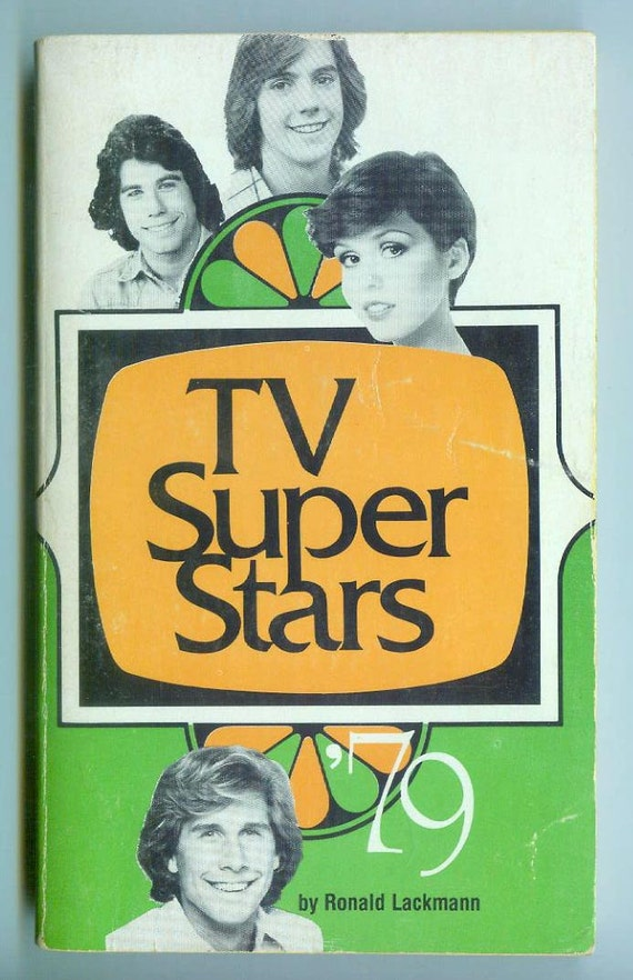Vintage TV Super Stars '79 1979  Pop Star Biographies Retro Paperback