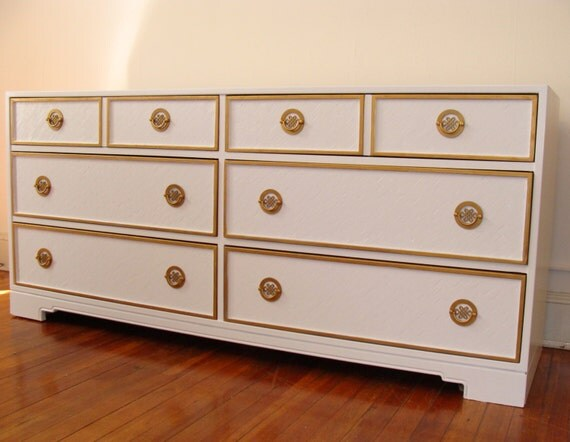 RESERVED FOR NICOLE Vintage Hollywood Regency Console By