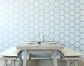 Honeycomb Wall Stencil Reusable