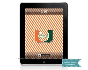 Personalized iPad Wallpaper