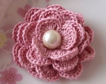 Crochet Flower in 2-1/2 inches YH-141-02