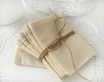 Muslin favor bags - Set of 200- Wedding favor bags -DIY wedding favor bags-Baby Shower