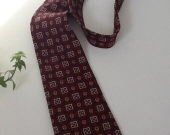Tommy Hilfiger Vintage Necktie Men's Italian Silk Necktie