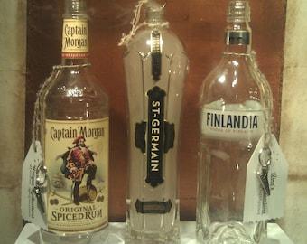Liquor Bottle Stick Incense Burner
