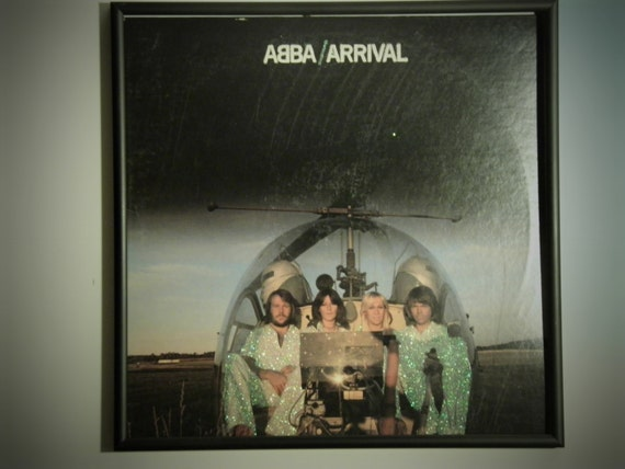 Glittered Record Album - ABBA - Arrival