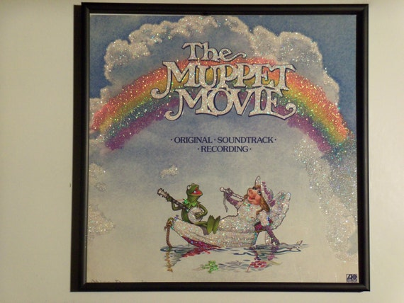 Glittered Record Album - The Muppet Movie Soundtrack