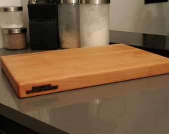 12 x 18 x 1.5 Maple Cutting Board