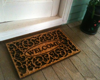 A Welcoming Doormat For Your Dollhouse