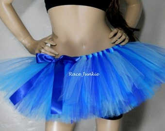Ocean Blue. 3 Blues Adult Tutu. Halloween Costume. Christmas Ice Costume. Coplay. Dance. Relay Tutu. Colon Cancer Awareness