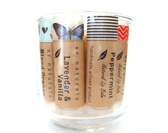 Peppermint Lip Balm - All Natural Lip Balm - Organic lip balm - Home & Living - Bath and Beauty - Makeup and Cosmetics - Party Favors