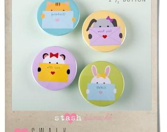 Bella Buttons (S.W.A.L.K.)