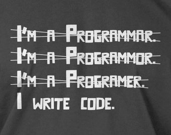 I Write Code Programmer Screen Printed Hoodie