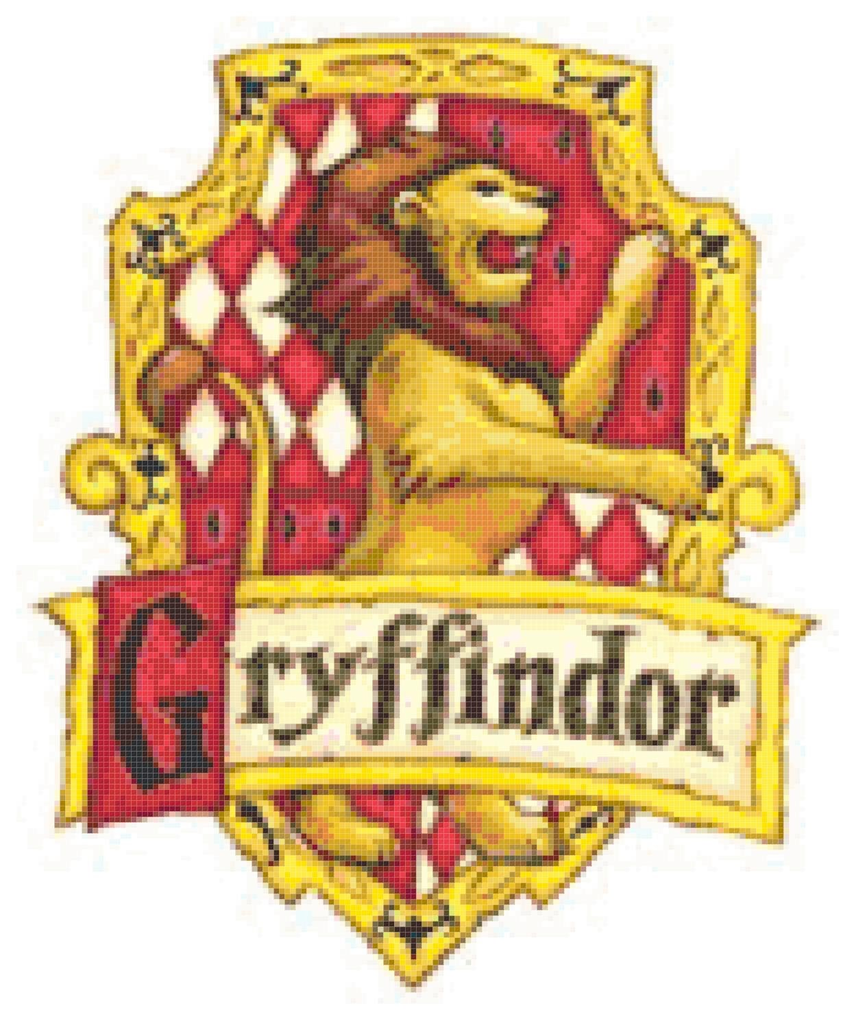 photo relating to Gryffindor Crest Printable titled Harry Potter Gryffindor Crest Printable