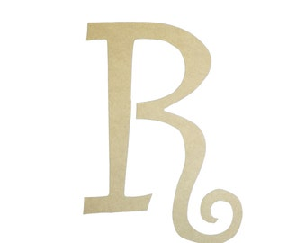Unfinished wooden small letters 6 39 39 paintable wood craft for Small wooden numbers craft