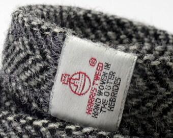Harris Tweed Label sewn onto collar