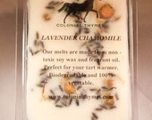Lavender/Chamomile Scented-Clamshell Soy Wax Melts